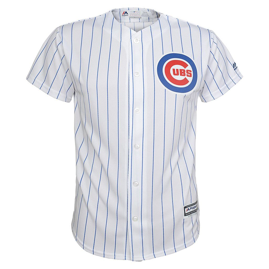 Boys 8-20 Majestic Chicago Cubs Anthony Rizzo Replica Jersey