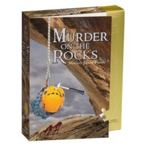 BePuzzled 1000-pc. Murder on the Rocks Classic Murder Mystery Jigsaw Puzzle