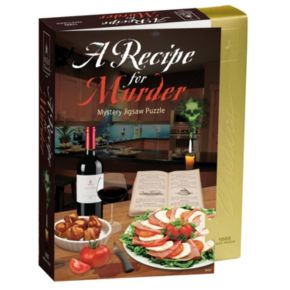 BePuzzled 1000-pc. Recipe for Murder - Murder Mystery Jigsaw Puzzle