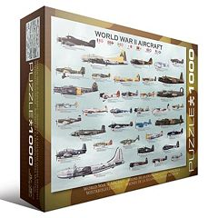 Eurographics 1000 pc World War II Aircraft Jigsaw Puzzle