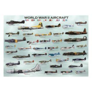 Eurographics 1000-pc. World War II Aircraft Jigsaw Puzzle