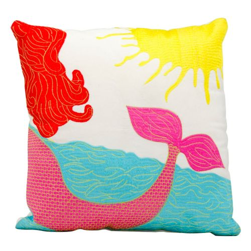 Mina Victory Mermaid Outdoor Throw Pillow