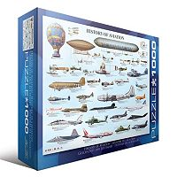 Eurographics 1000-pc. History of Aviation Jigsaw Puzzle