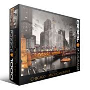 Eurographics 1000 pc City Collection Chicago Michigan Avenue Jigsaw Puzzle