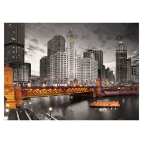 Eurographics 1000-pc. City Collection Chicago Michigan Avenue Jigsaw Puzzle