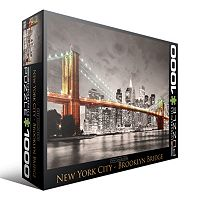 Eurographics 1000 pc City Collection New York City Brooklyn Bridge Jigsaw Puzzle