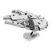 Star Wars Millennium Falcon Metal Earth 3D Laser Cut Model by Fascinations