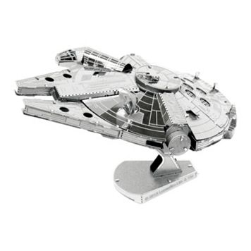 Star Wars Millennium Falcon Metal Earth 3D Laser Cut Model by Fascinations
