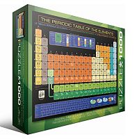Eurographics 1000 pc Periodic Table of Elements Jigsaw Puzzle