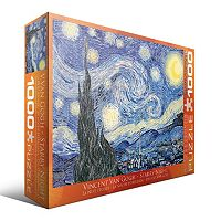 Eurographics 1000-pc. Vincent Van Gogh Starry Night Jigsaw Puzzle