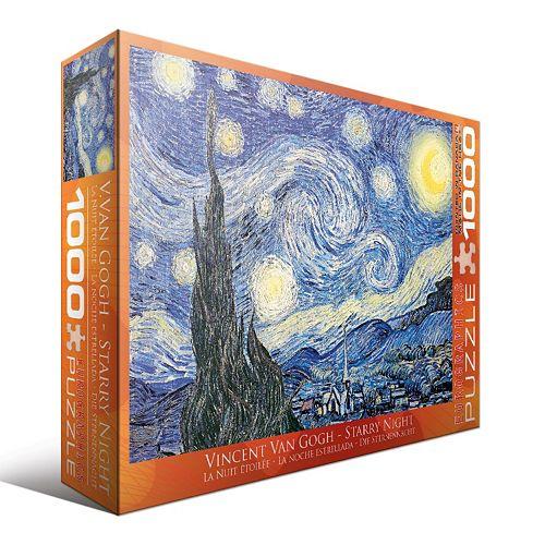 Eurographics 1000-pc. Vincent Van Gogh Starry Night Jigsaw Puzzle
