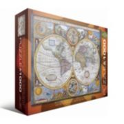 Eurographics 1000-pc. Antique World Map Jigsaw Puzzle