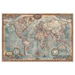 Educa The World Map 4,000-pc. Jigsaw Puzzle