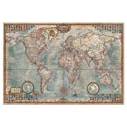 Educa The World Map 4,000 pc Jigsaw Puzzle