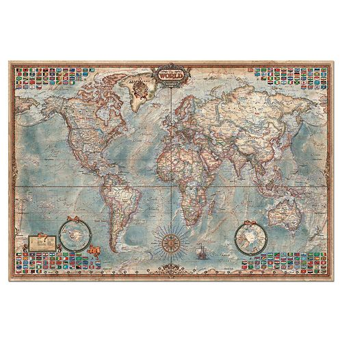 Educa the world map 4000 pc jigsaw puzzle gumiabroncs Gallery