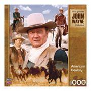 MasterPieces John Wayne: America's Cowboy 1,000 pc Jigsaw Puzzle