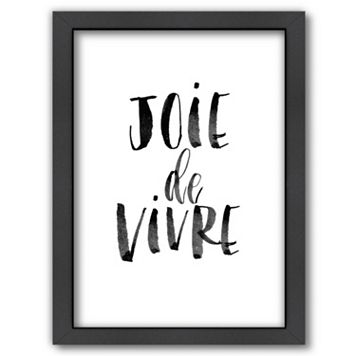 Americanflat ''Joie de Vivre'' Framed Wall Art