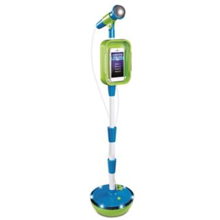 Discovery Kids First Act Light-Up Microphone & Stand
