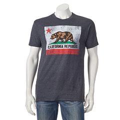 Men's Golden State California Flag Tee