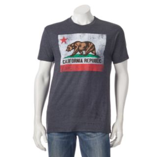 Men's Golden State California Flag Tee