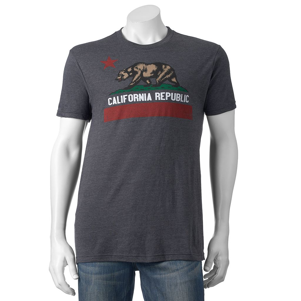Men's California Republic Flag Tee