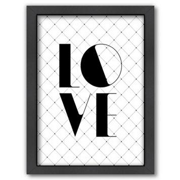 Americanflat ''Love'' Framed Wall Art
