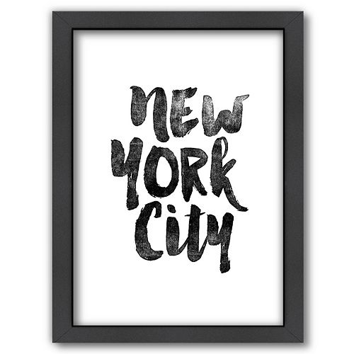 Americanflat ''New York City'' Framed Wall Art