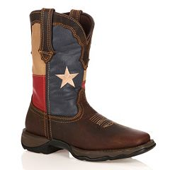 Durango Lady Rebel Women's Texas Flag Cowboy Boots