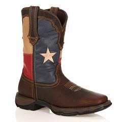Durango Lady Rebel Women's Texas Flag Cowboy Boots