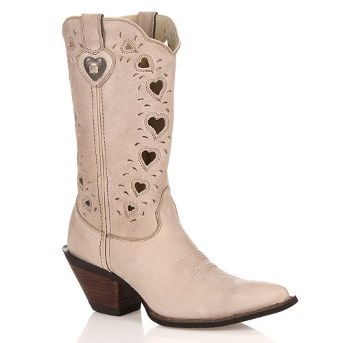 Durango Crush Heartfelt Women's Cutout Cowboy Boots