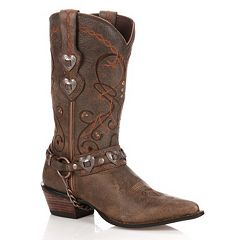 Durango Crush Heartbreaker Distressed Women's Cowboy Boots by