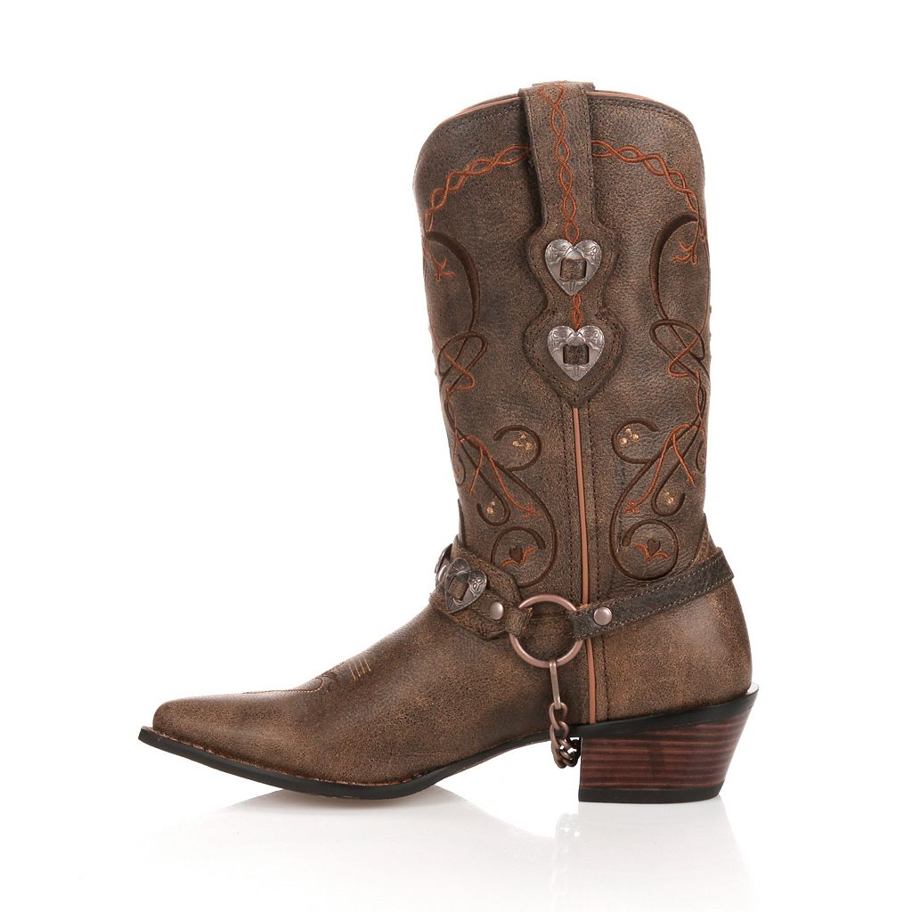 Durango Crush Heartbreaker Distressed Women's Cowboy Boots