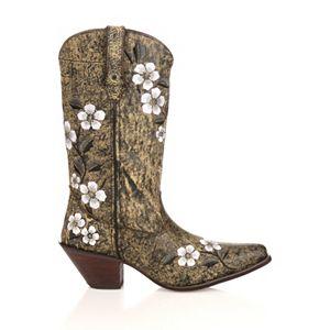 Durango Crush Floral Leopard Women's Cowboy Boots