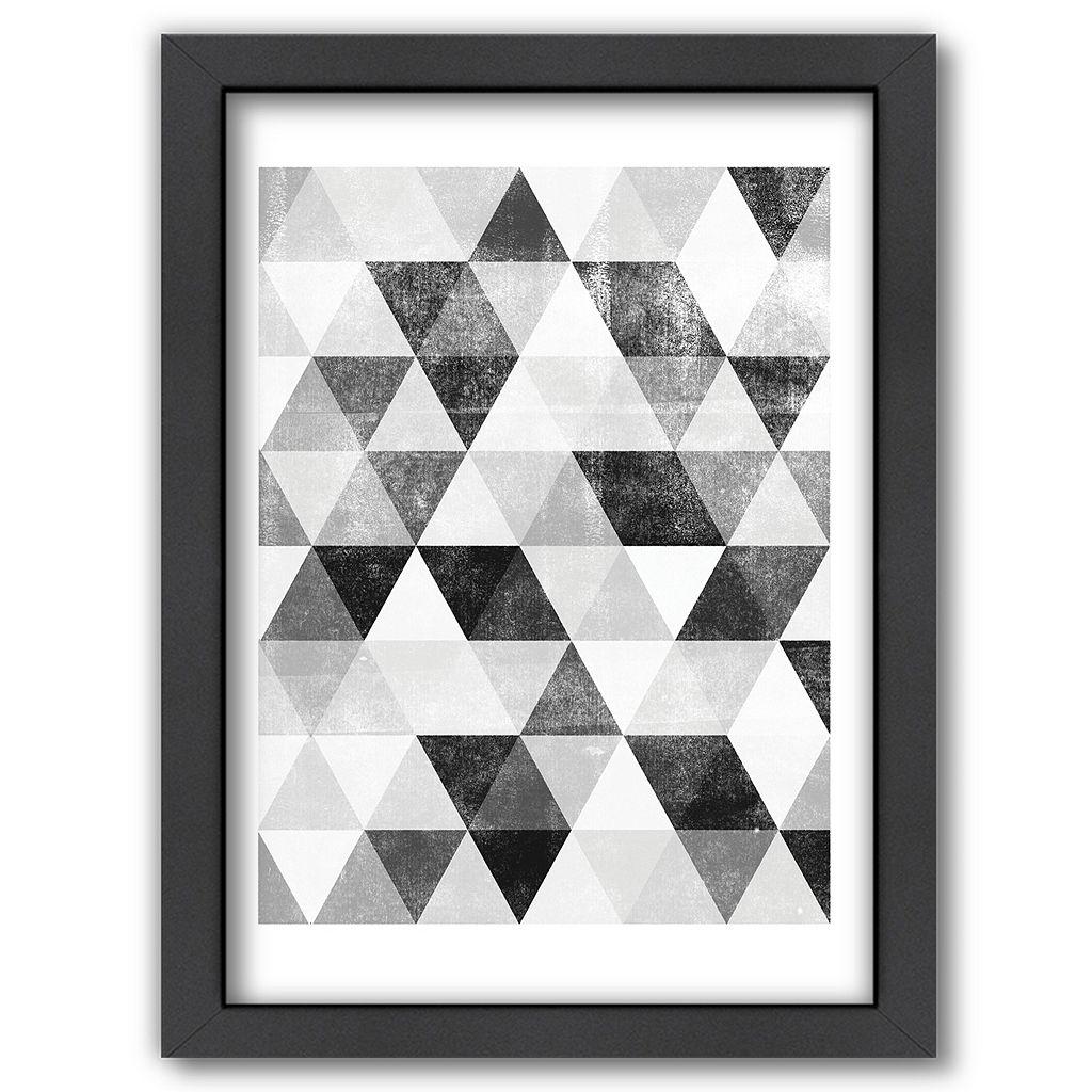 Americanflat Polygon Framed Wall Art