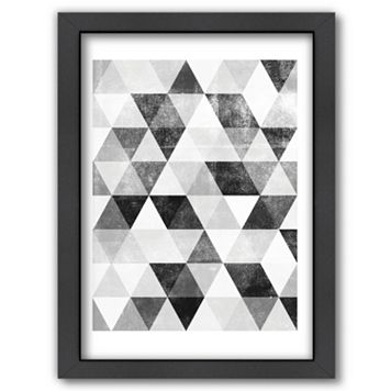 Americanflat Polygon Framed Wall Art