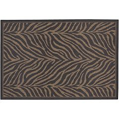 Couristan Zebra Indoor Outdoor Rug