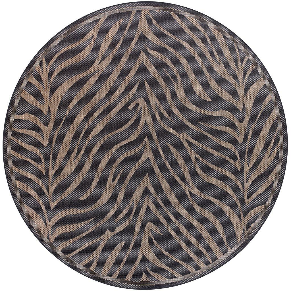 Couristan Zebra Indoor Outdoor Rug