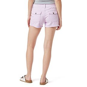 Juniors' Unionbay Delaney Stretch Midi Shorts