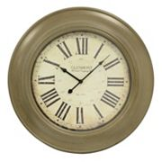 Decor Therapy Classic Glenmont Wall Clock