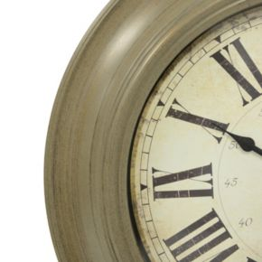 Decor Therapy Classic Glenmont Wall Clock