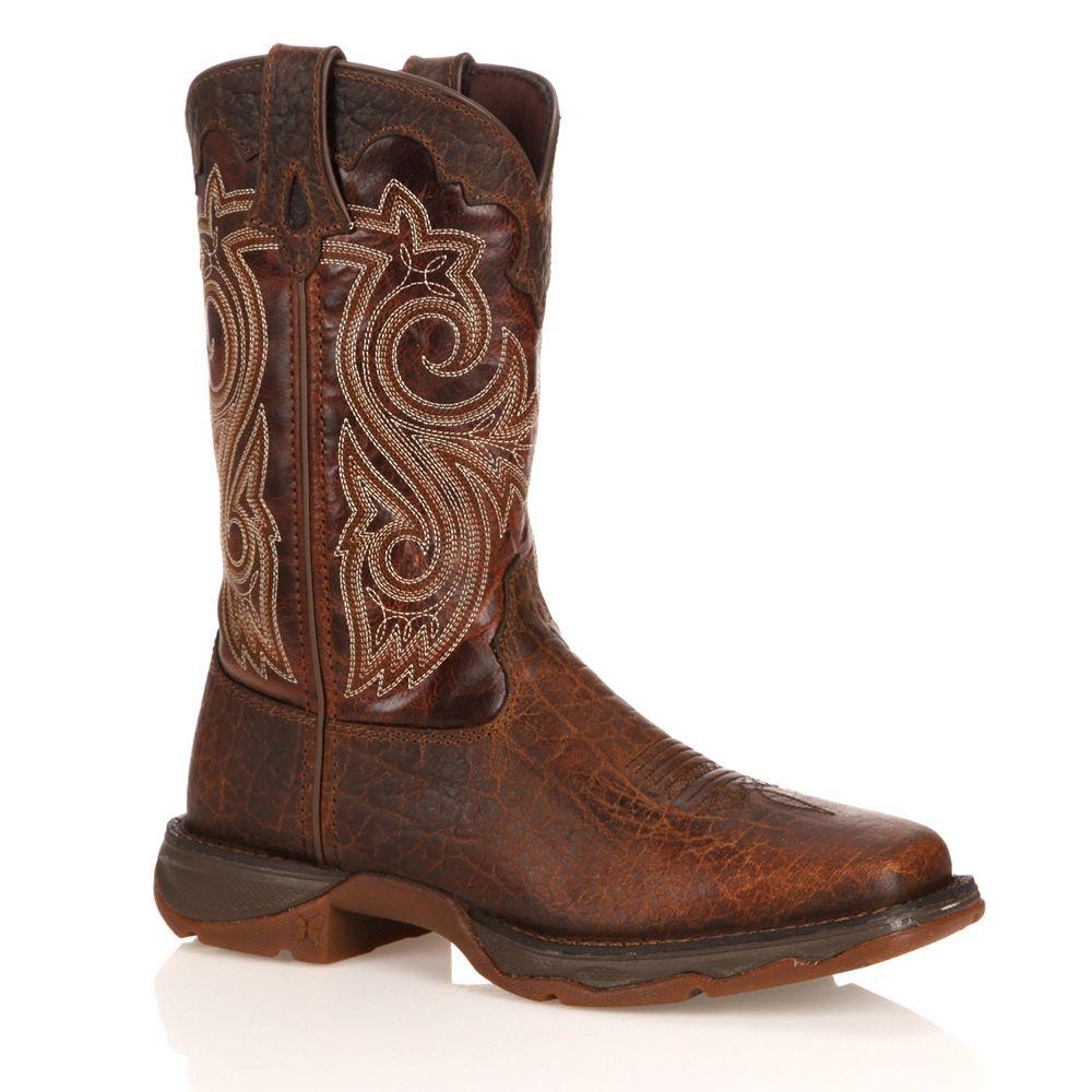 e7776ecec4e Durango Lady Rebel Women's Steel-Toe Cowboy Boots