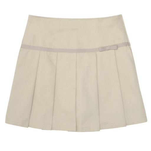 Toddler Girl French Toast School Uniform Twill Skort