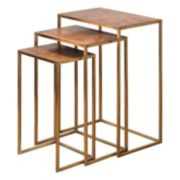 3-piece Copres Nesting Table Set