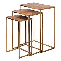 3 pc Copres Nesting Table Set