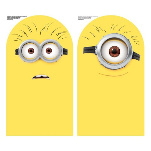 Minion 2-piece Dry Erase Peel and Stick Wall Decal Set