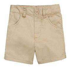 Toddler Girl French Toast School Uniform Shorts