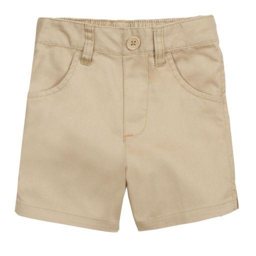 Toddler Girl French Toast School Uniform Shorts