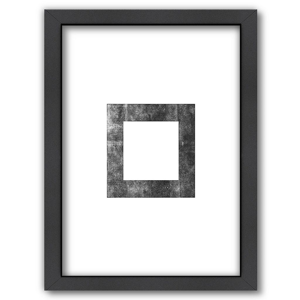 Americanflat Square Framed Wall Art