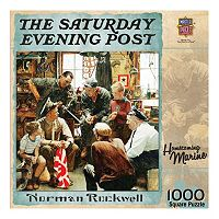 MasterPieces The Saturday Evening Post Norman Rockwell: Homecoming Marine 1,000 pc Jigsaw Puzzle