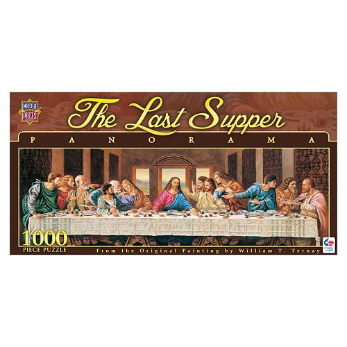MasterPieces The Last Supper 1,000-pc. Panoramic Jigsaw Puzzle